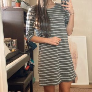 Gray Everday Dress